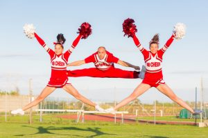 Cheerleading injuries Friendswood TX