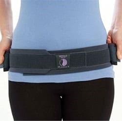 Back brace for SI joint pain